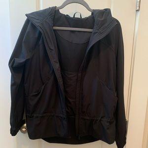 Lululemon size 10 pack it up rain jacket